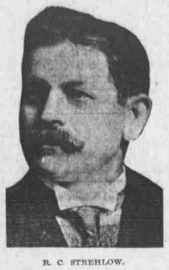 Robert C. Strehlow (1862 to 1952), North Omaha, Nebraska