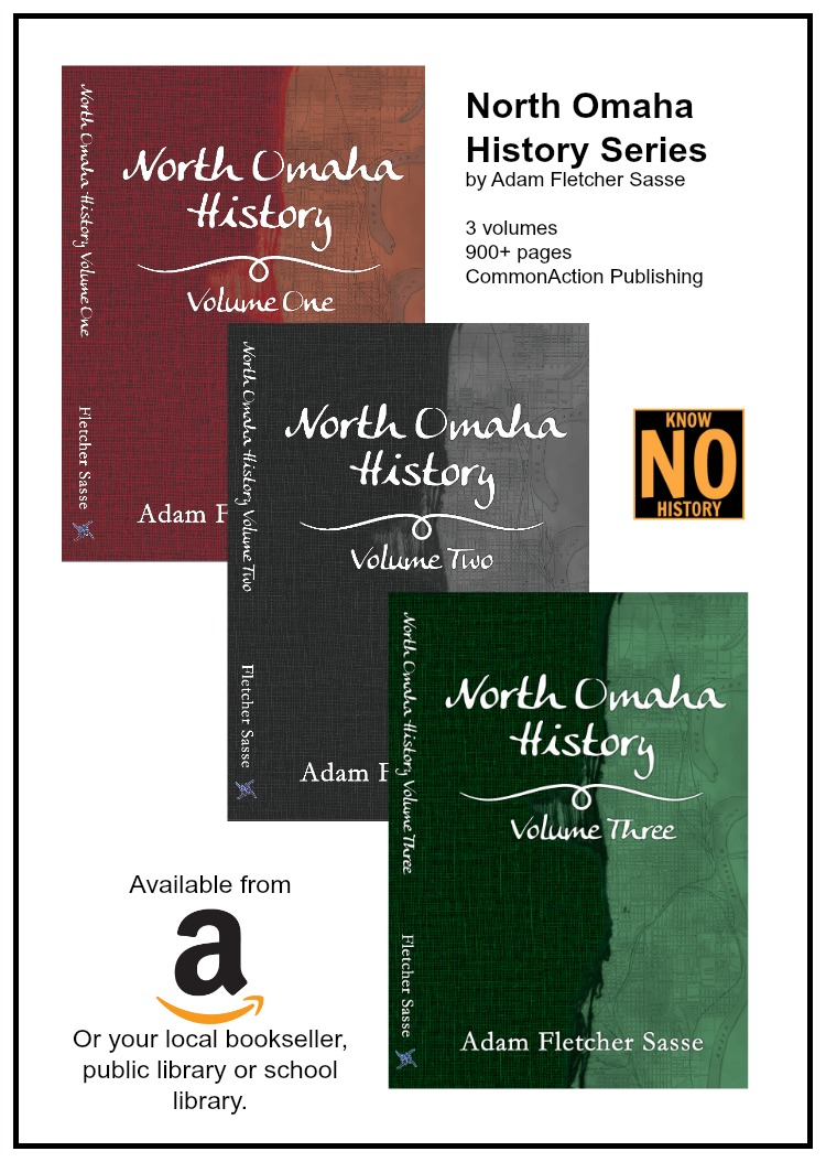 North Omaha History Series by Adam Fletcher Sasse is on sale at http://amzn.to/2fynMQ0