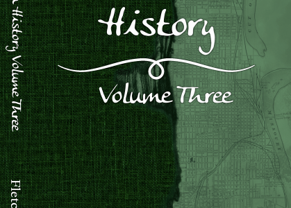 This is the cover of North Omaha History: Volume Three by Adam Fletcher Sasse