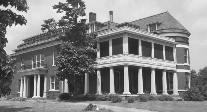 Saunders Mansion, 1703 Grace Street, North Omaha, Nebraska