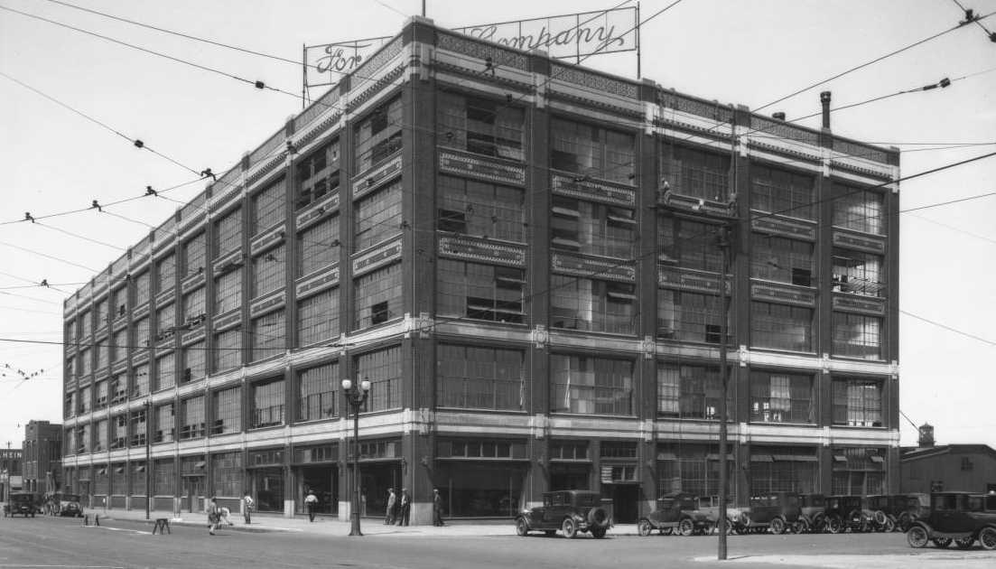 Ford Motors Company plant, North 16th and Cuming Street, North Omaha, Nebraska