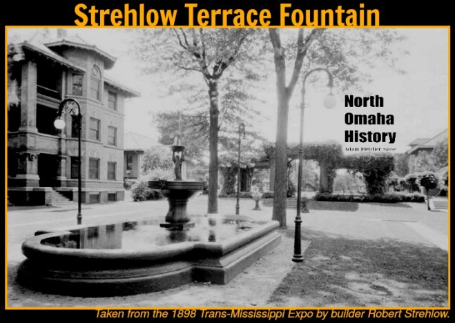 The Strehlow Terrace fountain was made in 1898 and recovered by Robert Strehlow.
