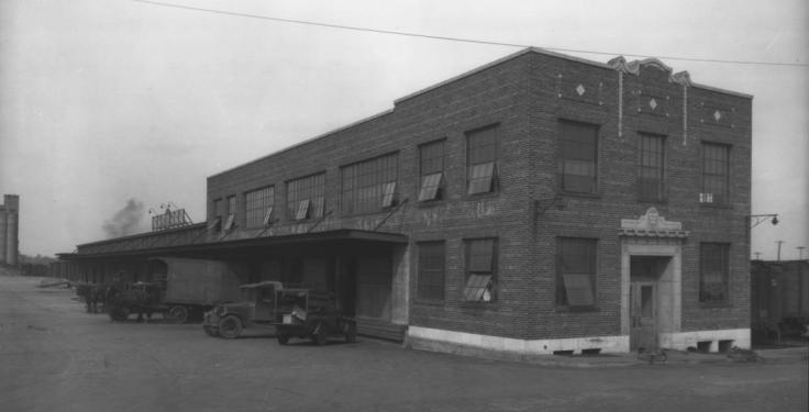 Missouri Pacific Freight Depot, Omaha, Nebraska