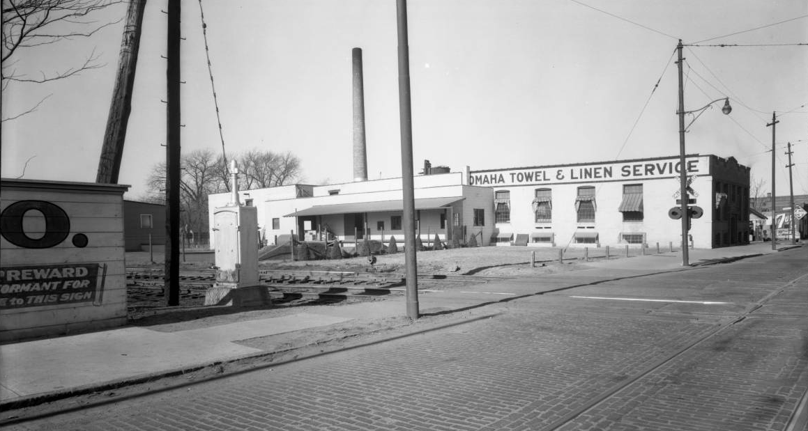Omaha Towel and Linen Service, North 24th and Boyd Streets, North Omaha, Nebraska