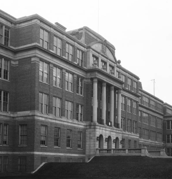 Omaha Tech High, 30th and Cuming Streets, North Omaha, Nebraska