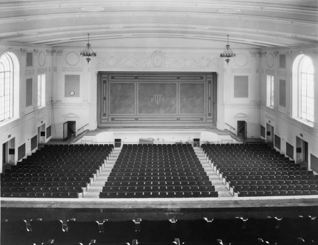 Tech High School Auditorium, North Omaha, Nebraska