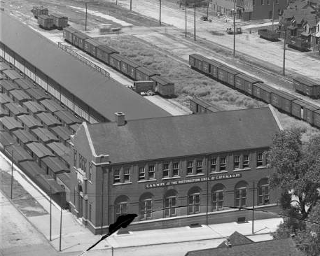 Chicago and Northwestern Railroad Cargo Depot, North 15th Street, Omaha, Nebraska