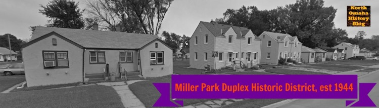 Miller Park Duplex Historic District, N. 24th and Himebaugh, North Omaha, Nebraska