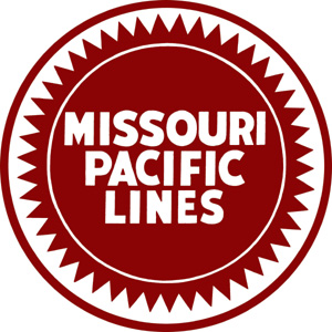 This is the Missouri Pacific Railroad logo.