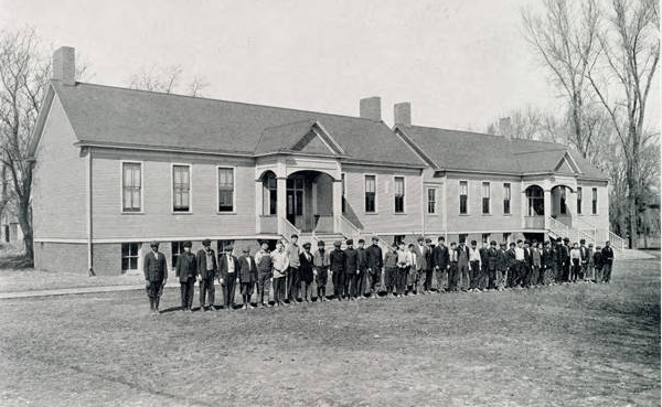 Fort Street Special School for Incorrigible Boys, N. 30th and Browne Streets, North Omaha, Nebraska