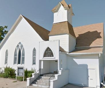 Bethel A.M.E. Church in the Long School neighborhood.