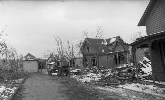 26th and Patrick on March 24, 1914 in North Omaha, Nebraska