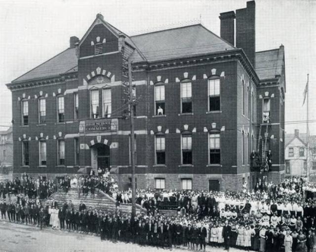 Omaha High School of Commerce, 1706 Leavenworth, Omaha, Nebraska