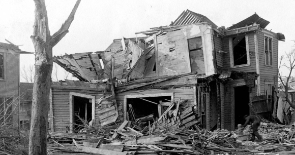 Home near N. 23rd and Miami 1913 Easter Sunday tornado