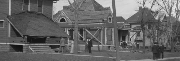 N. 25th and Miami Street reconstruction, North Omaha, Nebraska