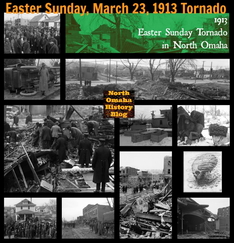 The 1913 Easter Sunday Tornado in North Omaha, Nebraska