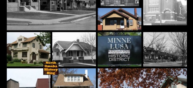 Minne Lusa Historic District, North Omaha, Nebraska
