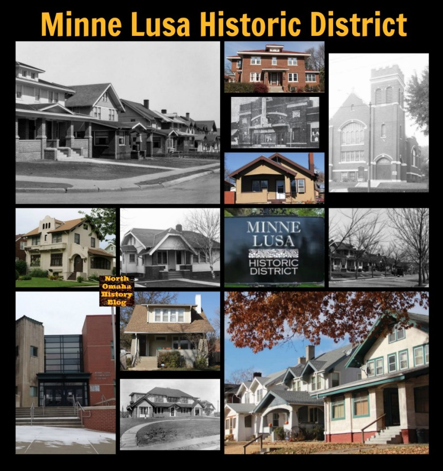 Minne Lusa Historic District, North Omaha, Nebraska