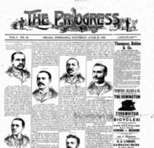 The Progress, a Black newspaper in Omaha, Nebraska