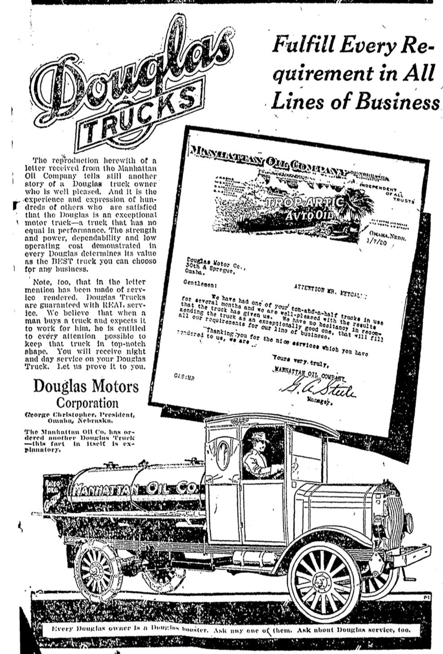 Douglas Trucks, North Omaha, Nebraska