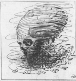 Omaha Bee drawing of the 1913 Easter Sunday tornado