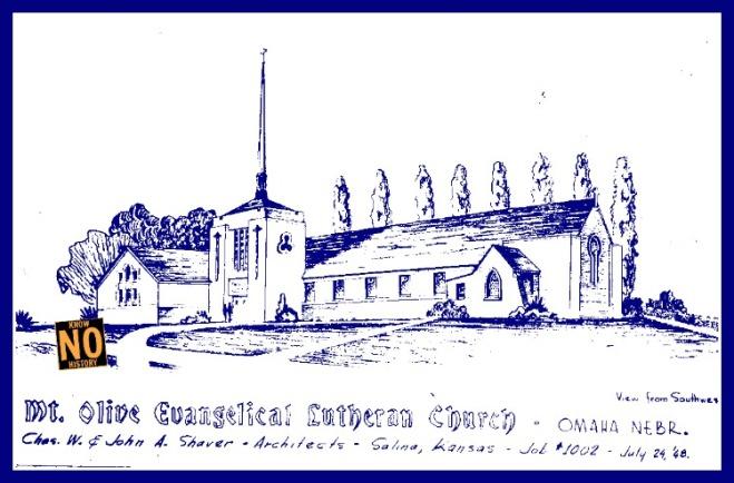 Mount Olive Lutheran Church, Minne Lusa, North Omaha, Nebraska