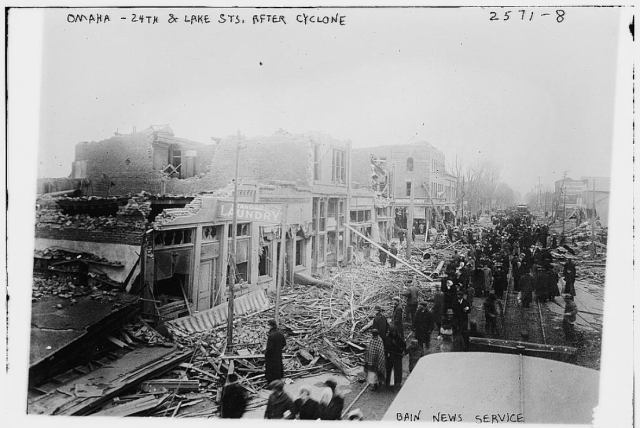24th and Lake Streets on March 24 1913
