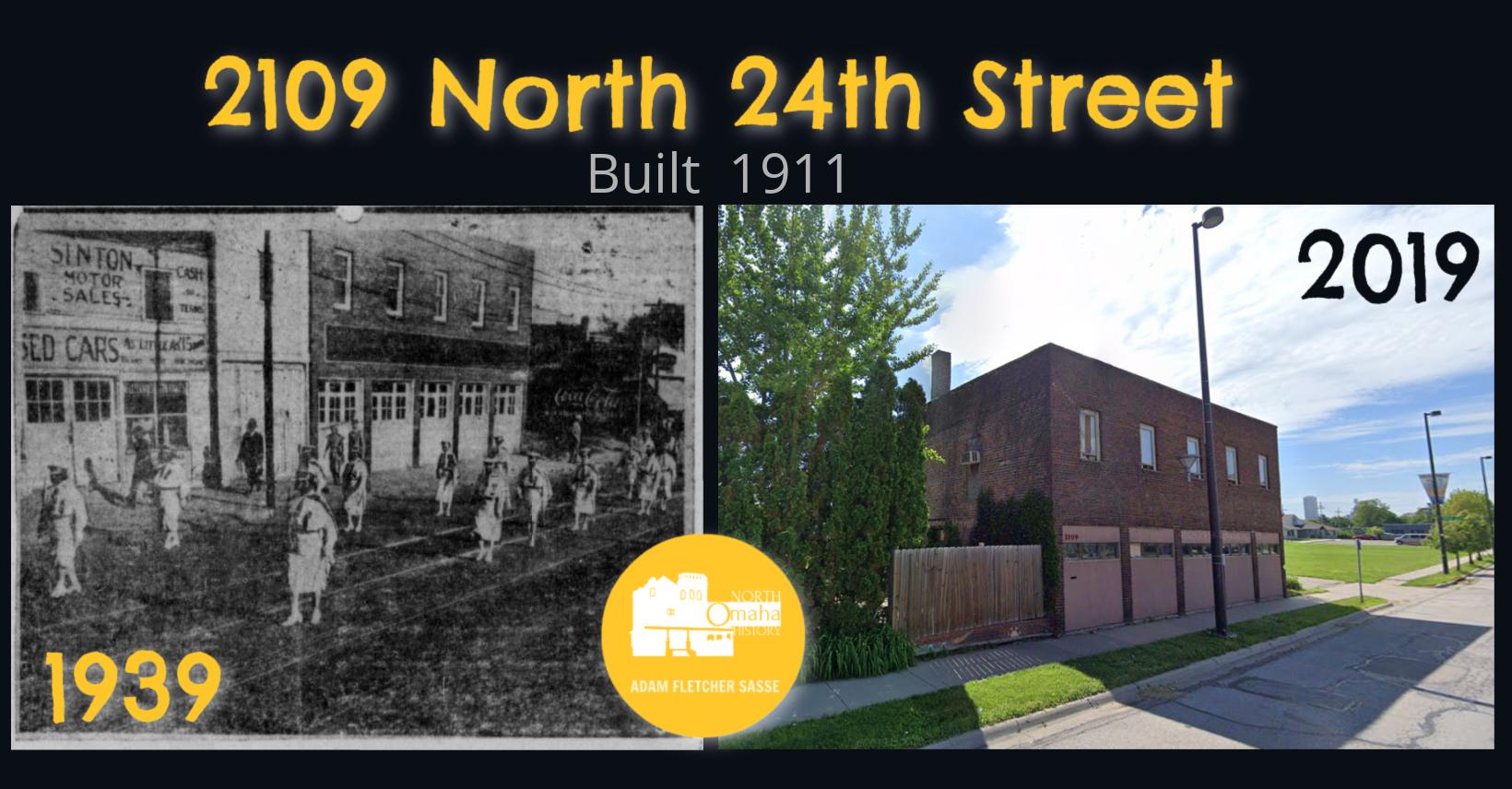 Micklin Lumber Company Building 2109 North 24th Street, North Omaha, Nebraska