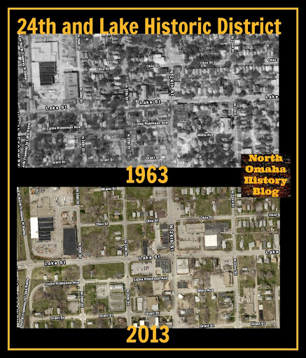 A Short History of North Omaha's 24th and Lake Historic District