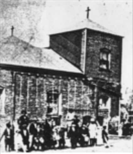 St. Benedict Catholic Church, N. 25th and Grant Streets, North Omaha, Nebraska