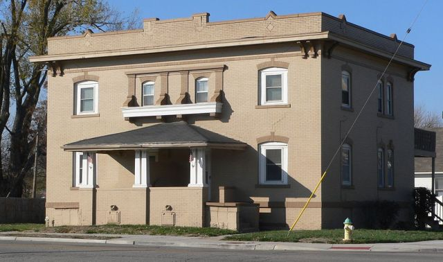 The Broomfield Rowhouse at 2502 Lake Street was designed by Clarence Wigington and built in 1913.
