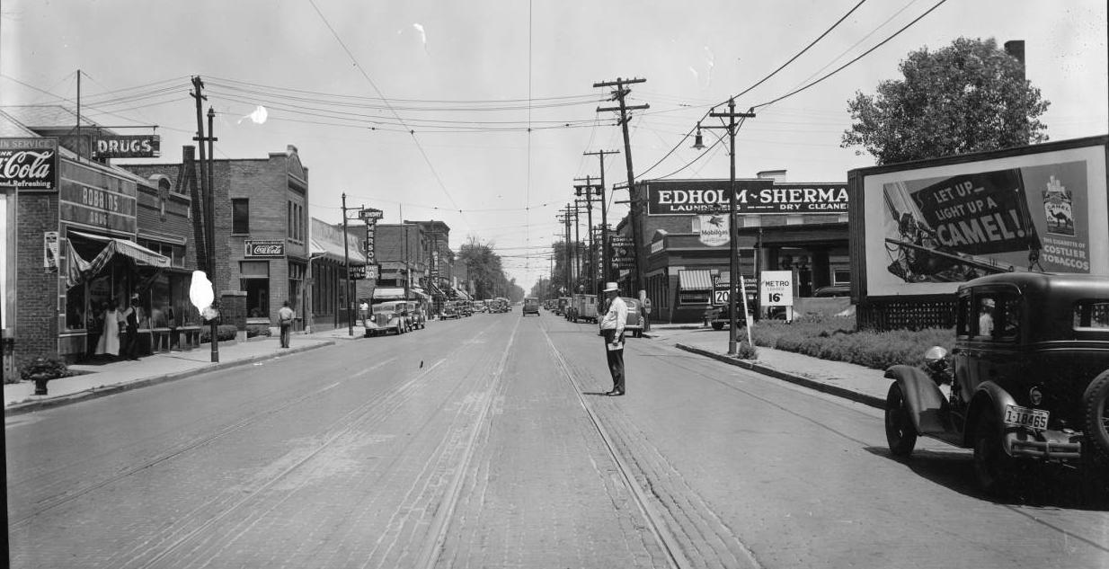 North 24th and Grant Streets, North Omaha, Nebraska