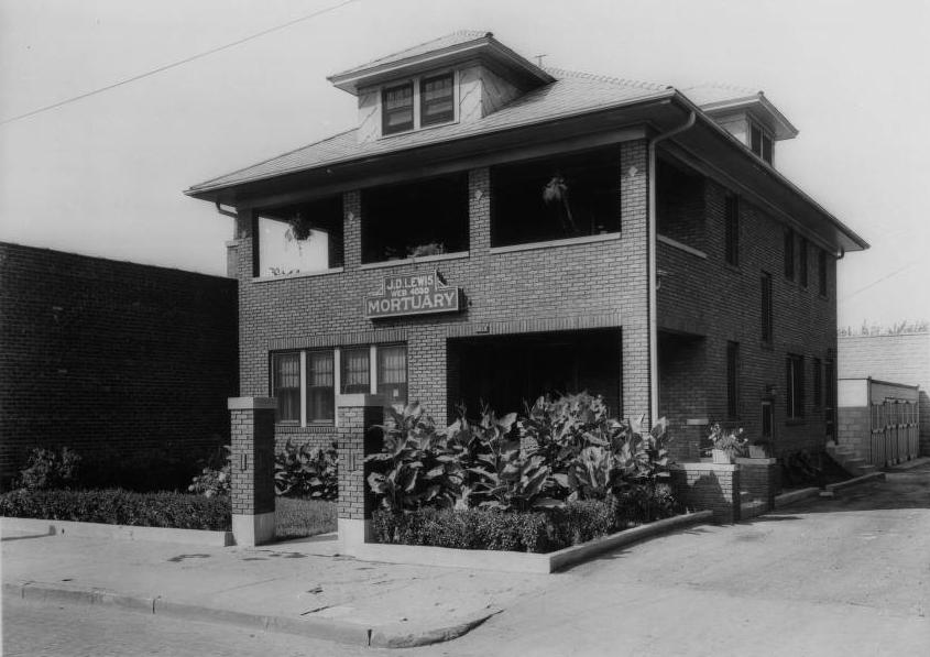 J. D. Lewis Mortuary, North 24th Street, North Omaha, Nebraska