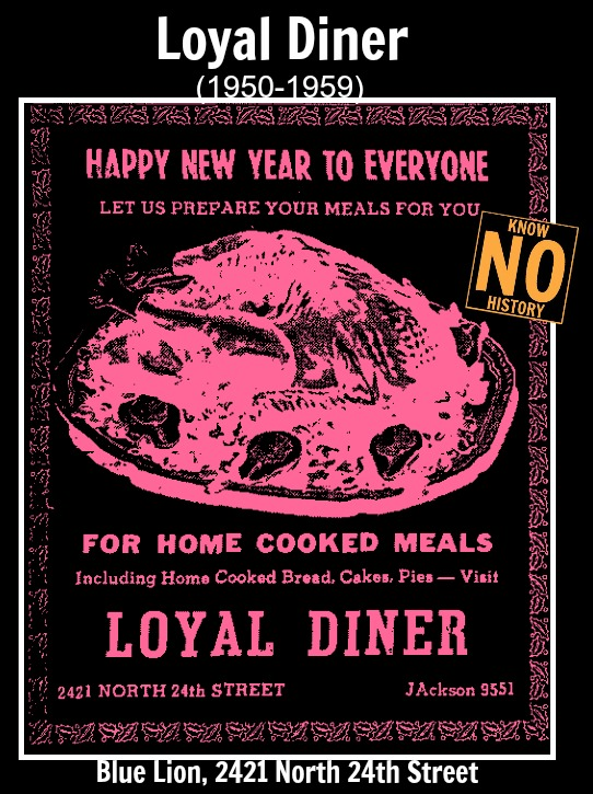 Loyal Diner, 2421 N. 24th Street, North Omaha, Nebraska