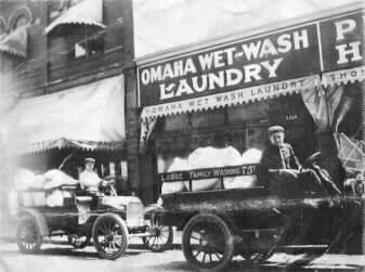 Omaha Wet-Wash Laundry, 2519 North 24th Street, North Omaha, Nebraska