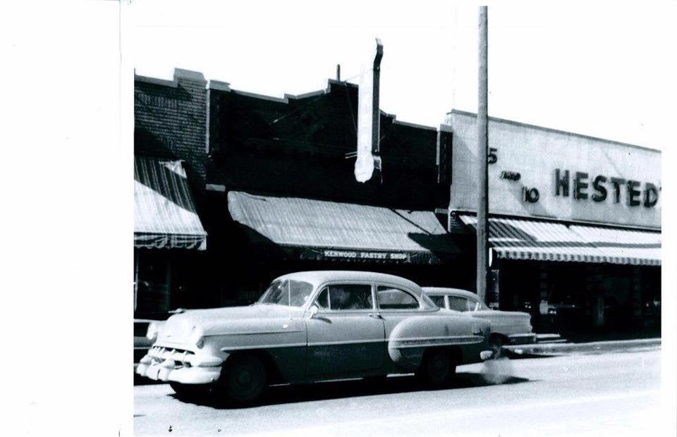 Kenwood Pastry Shop, 30th and Ames, North Omaha, Nebraska