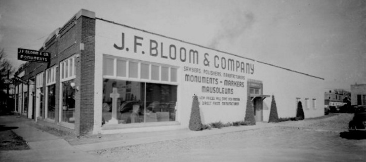 J. F. Bloom and Company, Florence Blvd and Ames Ave, North Omaha, Nebraska
