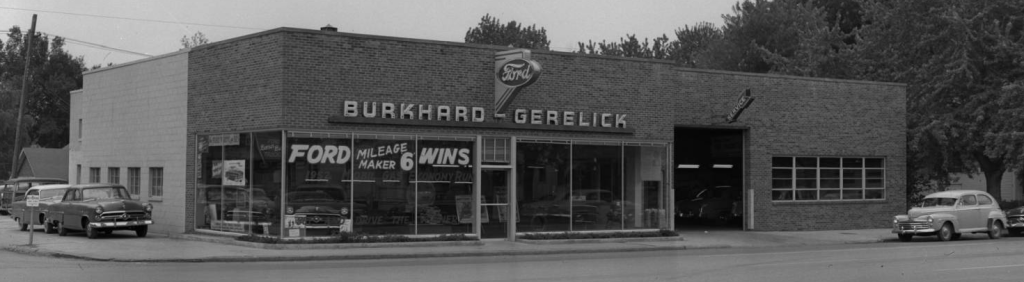 Burkhard-Gerelick Ford Dealership, N. 30th and Fowler Streets, North Omaha, Nebraska