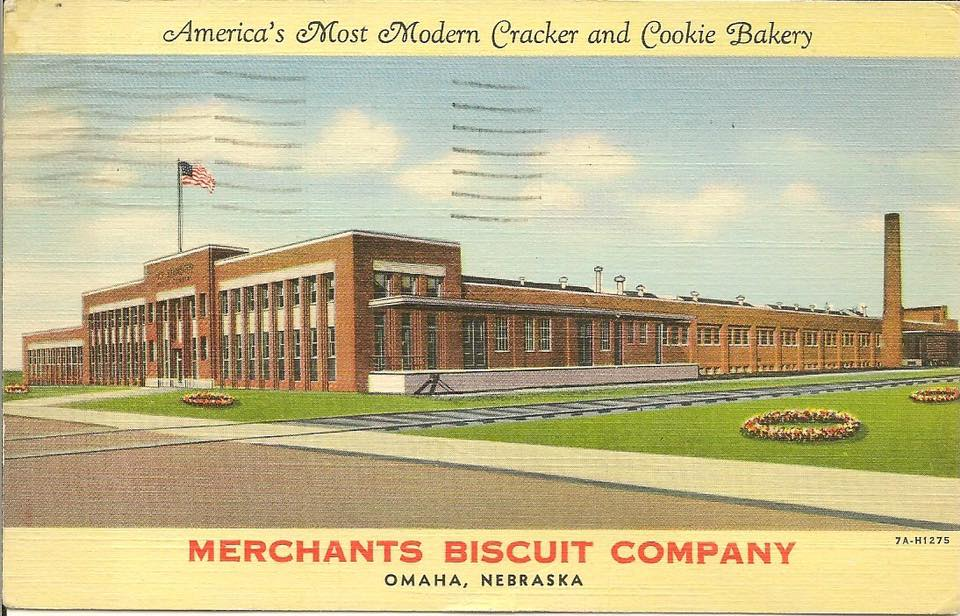 Merchant Biscuit Company, N. 30th and Taylor Streets, North Omaha, Nebraska
