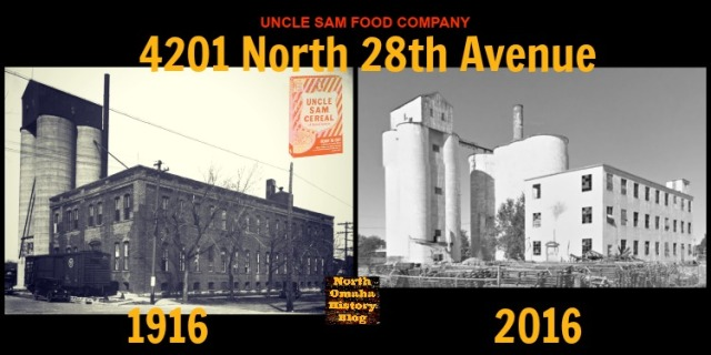 Uncle Sam Breakfast Food cereal plant, 4201 N. 28th Ave, North Omaha, Nebraska