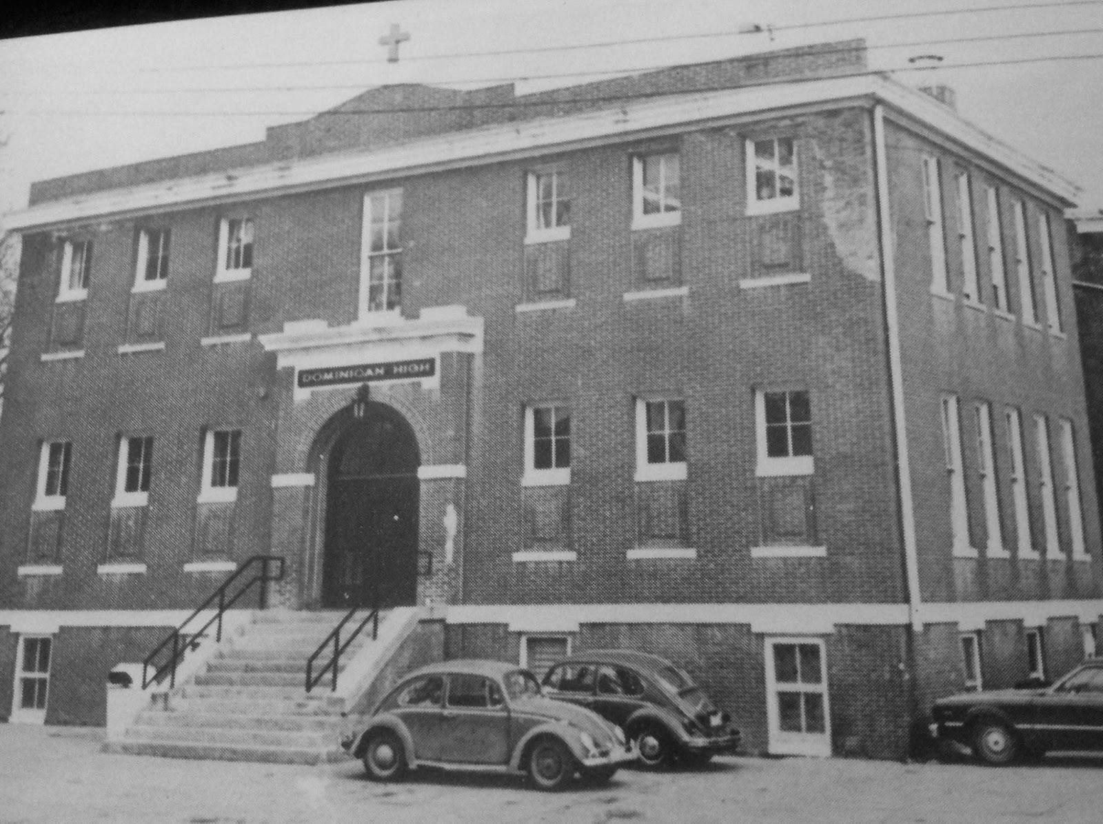 Dominican High School, N. 27th and Fowler, North Omaha, Nebraska