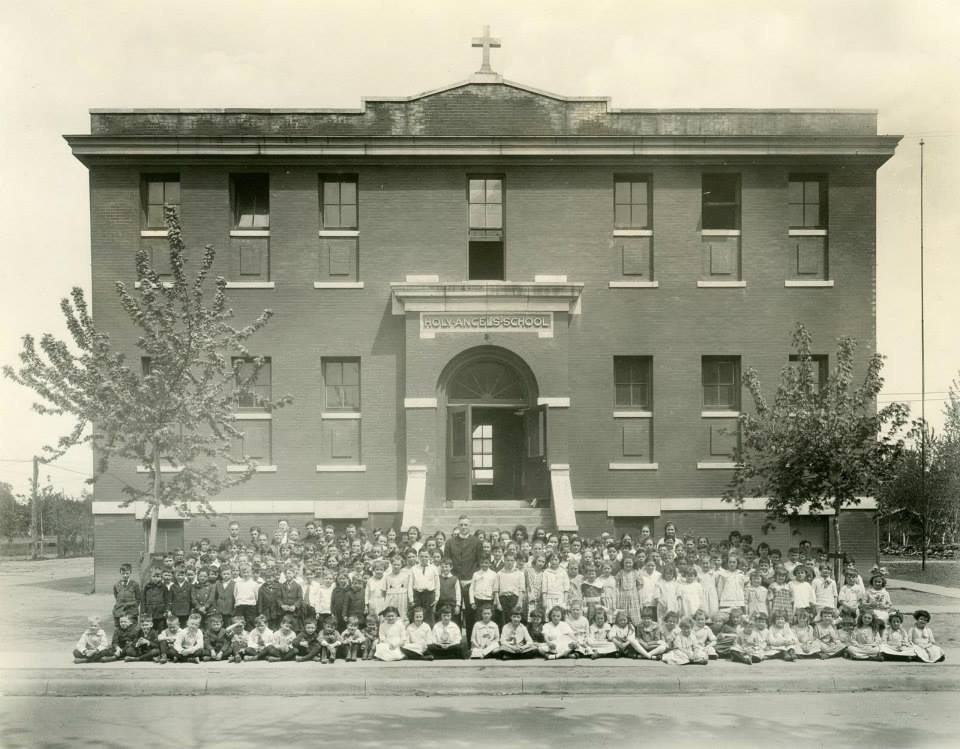 Holy Angels School, N. 27th and Fowler Ave, North Omaha, Nebraska