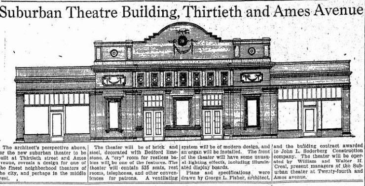 Beacon Theatre, North Omaha, Nebraska