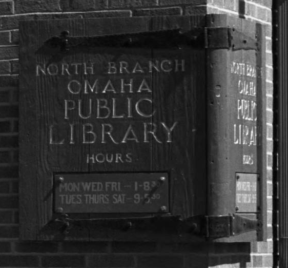 North Branch Omaha Public Library North Omaha Nebraska