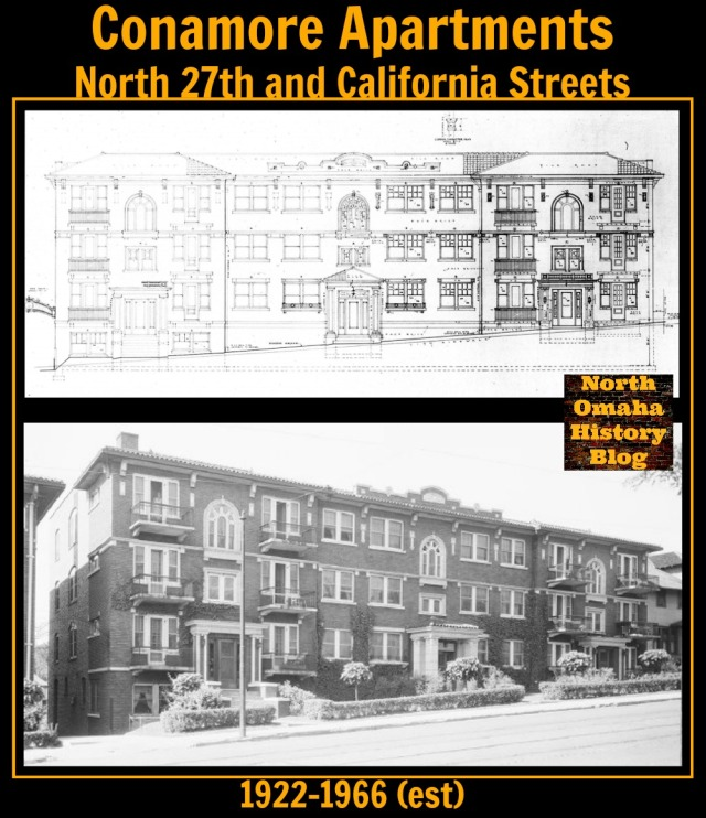 The Conamore Apartments were located at North 27th and California Streets.
