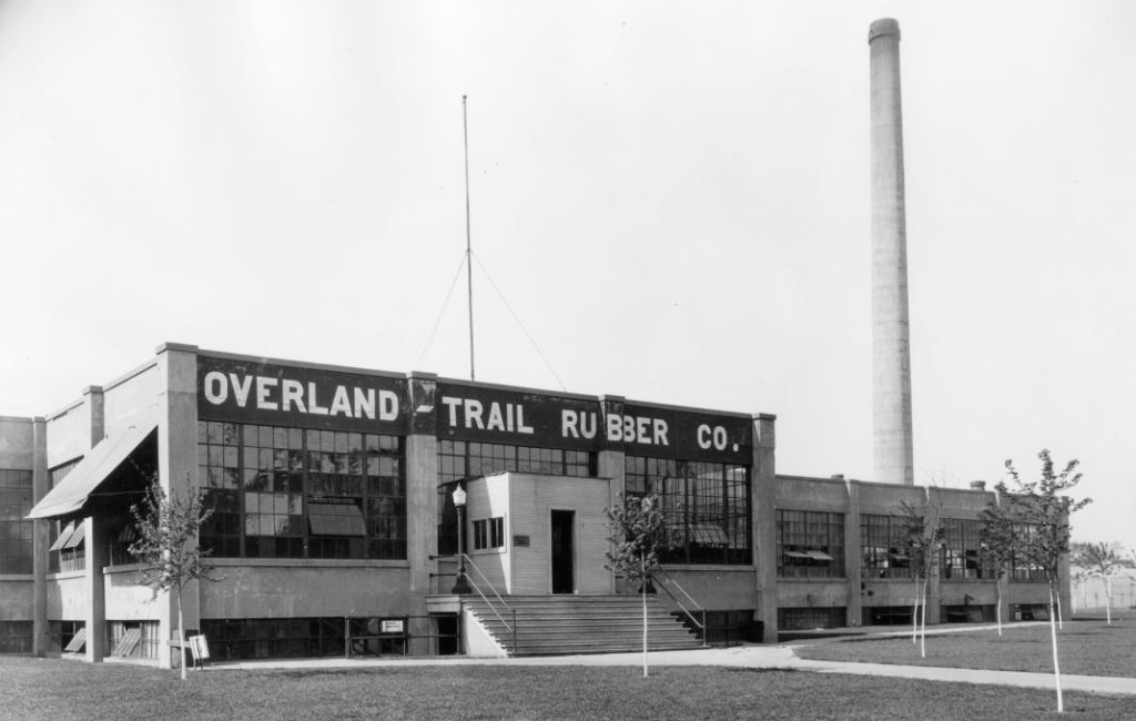 Overland Trail Rubber Company, 30th and Taylor, North Omaha, Nebraska