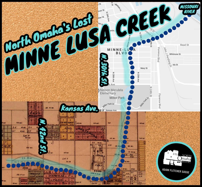 North Omaha's Lost Minne Lusa Creek by Adam Fletcher Sasse for NorthOmahaHistory.com