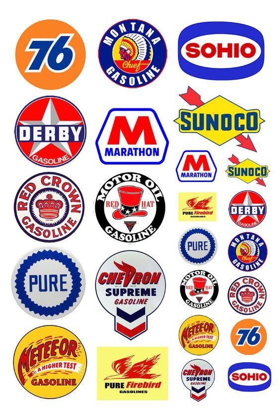 gas logos