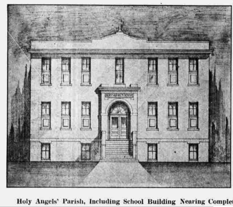 Holy Angels School, North 27th and Fowler Avenue, North Omaha.