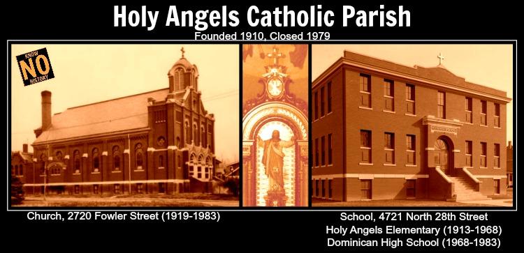 Holy Angels Catholic Parish, 27th and Fowler Ave, North Omaha, Nebraska